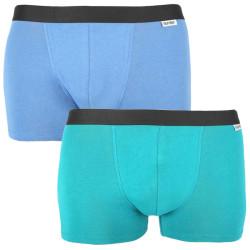 2PACK pánské boxerky Nur Der vícebarevné (827756 - mintg/blau)