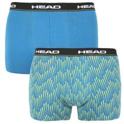 2PACK pánské boxerky HEAD modré (100001415 002)