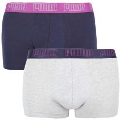 2PACK pánské boxerky Puma vícebarevné (100000884 022)