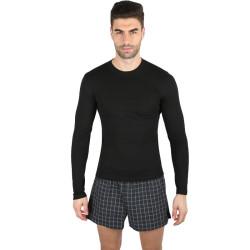 Pánské termo tričko VoXX merino černé (IN 01)