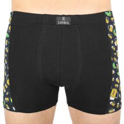 Pánské boxerky Lonka černé (Kamil pivo malé)
