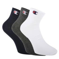 3PACK ponožky Champion vícebarevné (Y08QH)