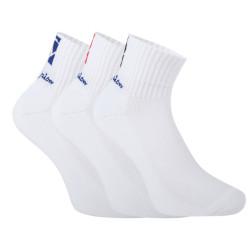 3PACK ponožky Champion bílé (Y0B0B)
