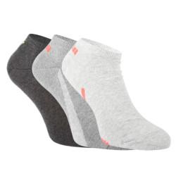 3PACK ponožky Puma šedé (100000956 005)