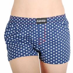 Dámské trenky Emes tmavě modré s hvězdičkami (005)