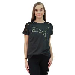 Dámské sportovní tričko Puma tmavě šedé (520286 07)