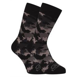 Veselé ponožky Styx vysoké maskáč (H1150)