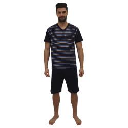 Pánské pyžamo Foltýn tmavě modré (FPK9)