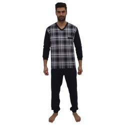 Pánské pyžamo Foltýn nadrozměr modré (FPDN6)