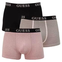 3PACK pánské boxerky Guess vícebarevné (U1GG13K6YW1-BKMI)
