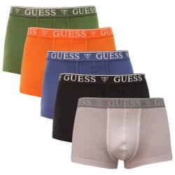 5PACK pánské boxerky Guess vícebarevné (U94G16K6YW1-F4F8)