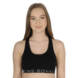 Dámská podprsenka Mons Royale černá (100167-1138-001)