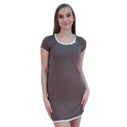 Dámská noční košile Cocoon Secret hnědá (COC915-KG)
