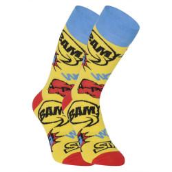 Veselé ponožky Styx vysoké Ploof (H1153)