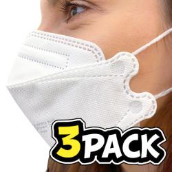 3PACK respirátor FFP2
