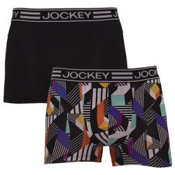 2PACK pánské boxerky Jockey vícebarevné (19902928 90G)