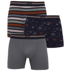 3PACK pánské boxerky Jockey vícebarevné (17301733 533)