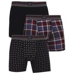 3PACK pánské boxerky Jockey vícebarevné (17301733 374)