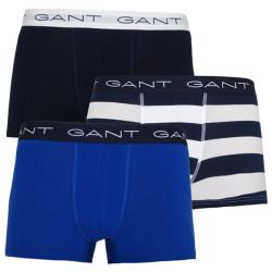 3PACK pánské boxerky Gant modré (902113013-409)