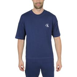 Pánské tričko CK ONE modré (NM1793E-C5F)
