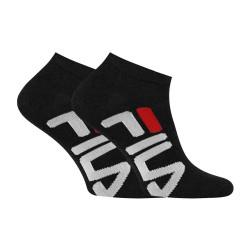 2PACK ponožky Fila černé (F9199-200)