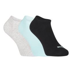 3PACK ponožky Puma vícebarevné (261080001 014)