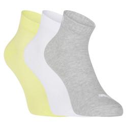 3PACK ponožky Puma vícebarevné (271080001 016)