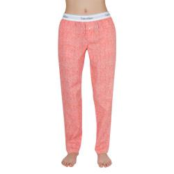 Dámské kalhoty na spaní Calvin Klein červené (QS6158E-SV1)