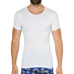 Pánské tričko Gino bambusové bílé (58006)