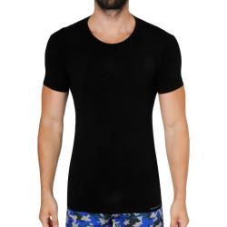 Pánské tričko Gino bambusové černé (58006)