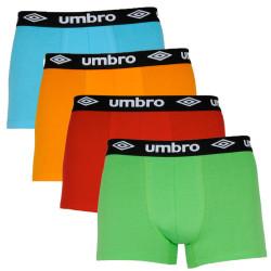 4PACK pánské boxerky Umbro vícebarevné (UMUM0317)