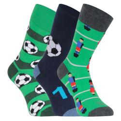 3PACK veselé ponožky Lonka vícebarevné (Debox mix D)