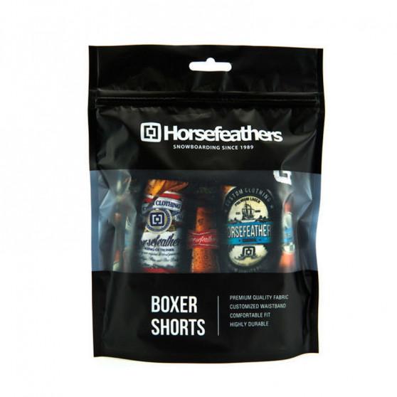 Pánské boxerky Horsefeathers Sidney long bottles (AA902L)