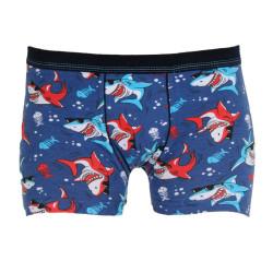Dětské boxerky Cornette Young modré (700/108)