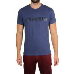 Pánské tričko Calvin Klein tmavě modré (NM1959E-DU1)