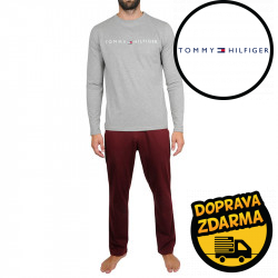 Pánské pyžamo Tommy Hilfiger vícebarevné (UM0UM01793 0S9)