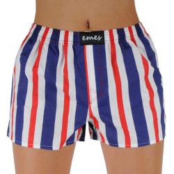 Dámské trenky Emes pruhy modré, červené (035)
