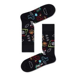 Ponožky Happy Socks Ho Ho Ho Sock (HOH01-9300)