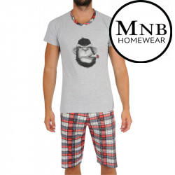 Pánské pyžamo Monabella vícebarevné (MNB-Y-8939)