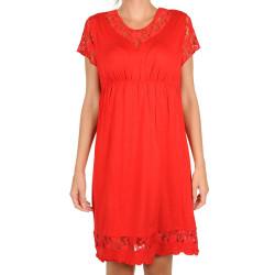 Dámská noční košile Cocoon Secret červená (COC5014-KG)
