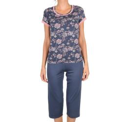 Dámské pyžamo Cocoon Secret modré (COC3041-KK)
