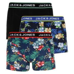 3PACK pánské boxerky Jack and Jones vícebarevné (12171253)