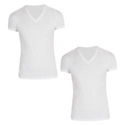 2PACK pánské tričko S.Oliver V-neck bílé (172.11.899.12.130.0100)
