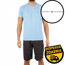 Pánské pyžamo Tommy Hilfiger vícebarevné (UM0UM01964 0Y2)