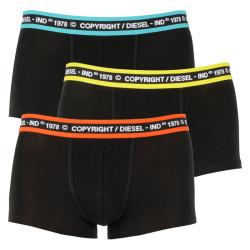 3PACK pánské boxerky Diesel černé (00ST3V-0WBBT-E5639)