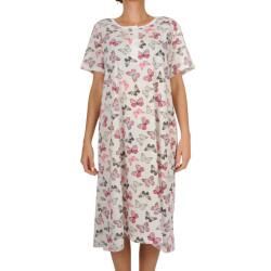 Dámská noční košile Christina secret nadrozměr vícebarevná (CHR-Y-6261)