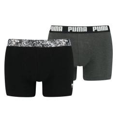 2PACK pánské boxerky Puma vícebarevné (701202499 001)