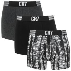 3PACK pánské boxerky CR7 vícebarevné (8110-49-2714)